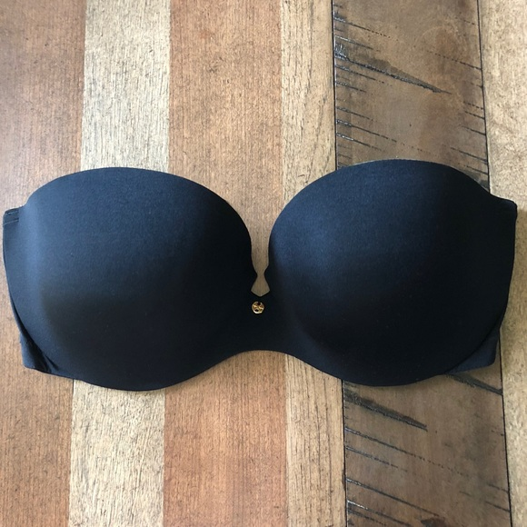 Victoria's Secret Other - 34D Victoria's Secret black strapless push-up bra
